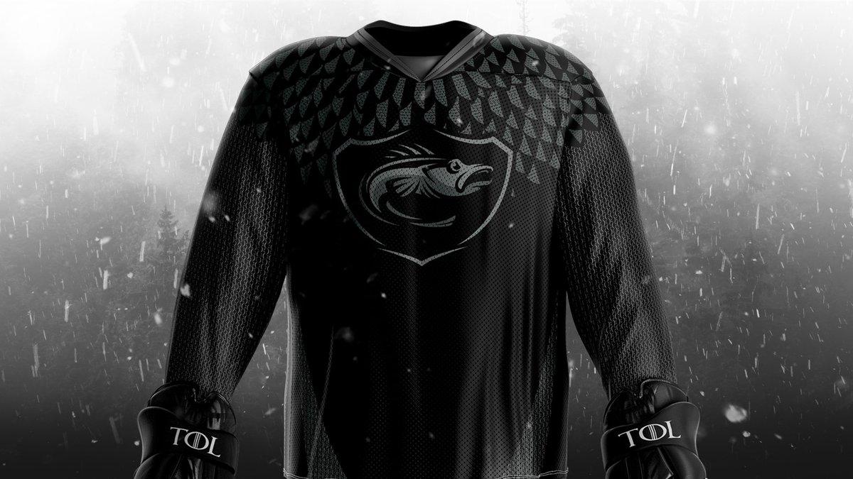 3f6ad49e6 The Toledo Walleye are wearing Blackfish jerseys ...