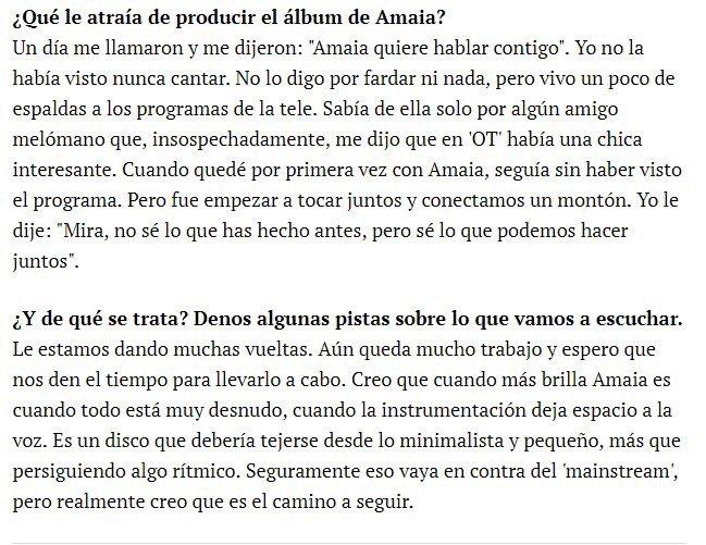 """Amaia Romero >> álbum """"Pero No Pasa Nada"""" - Página 15 DtG_gzrWoAAXQXy"""