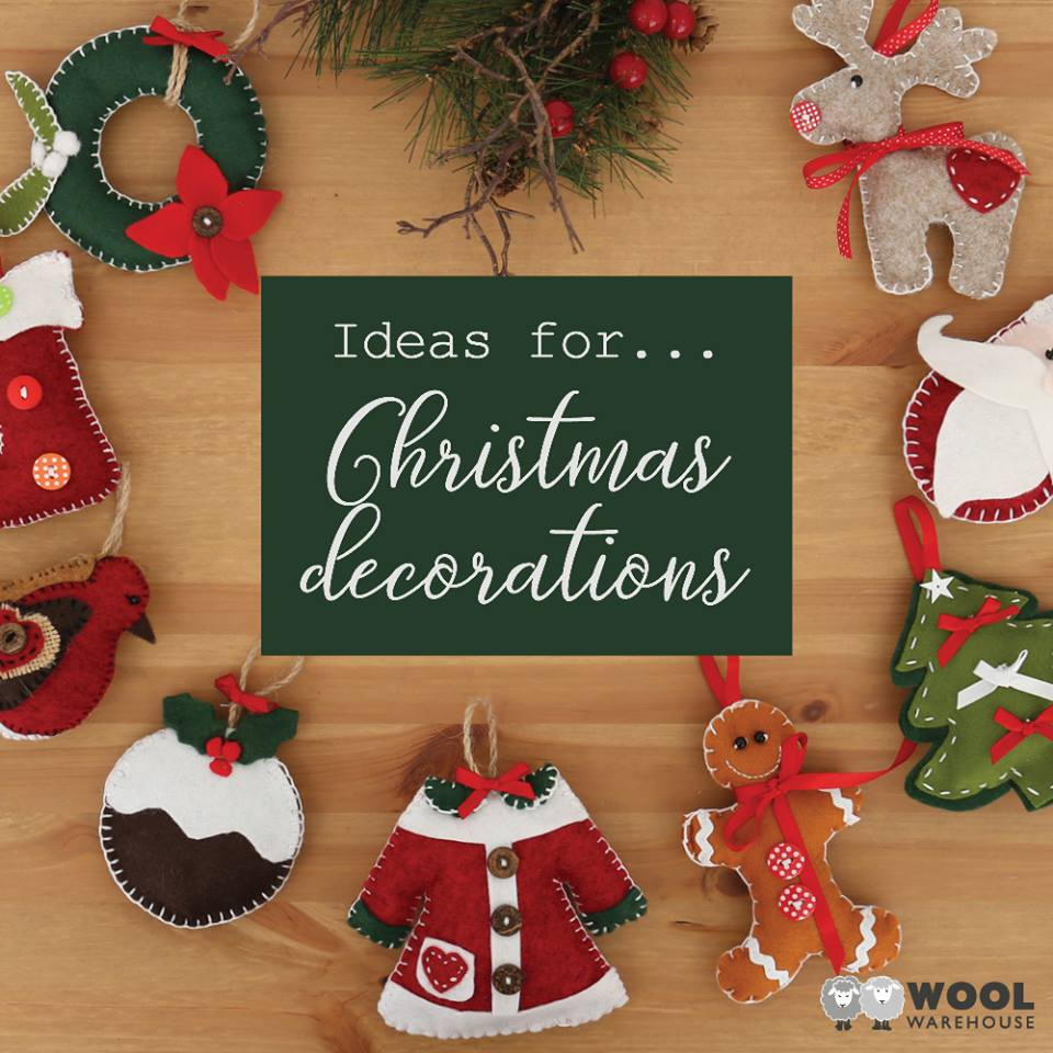 ... handmade Christmas decorations! We've rounded up our favourite ideas and popped them into a festive post on our blog for you.