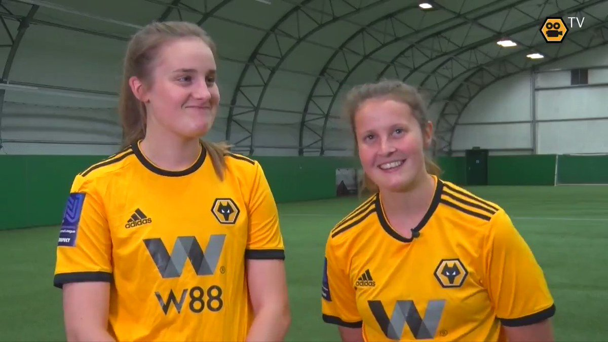 The next set of Wolves Women teammates to introduce you to...  Anna Morphet and Lowri Walker!  🎥👋