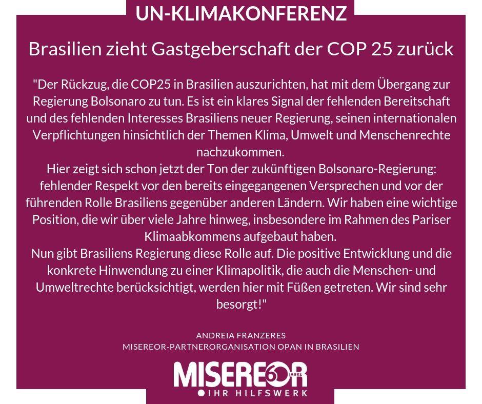 Misereor On Twitter Kurz Vor Der Weltklimakonferenz