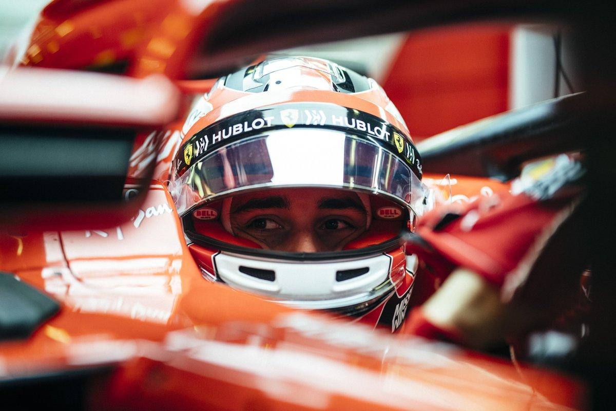 Leclerc spaventa Vettel, Ferrari show ad Abu Dhabi