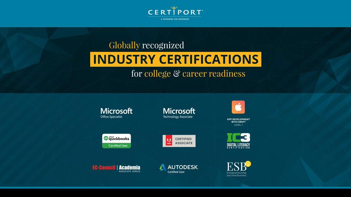 Certiport on Twitter: