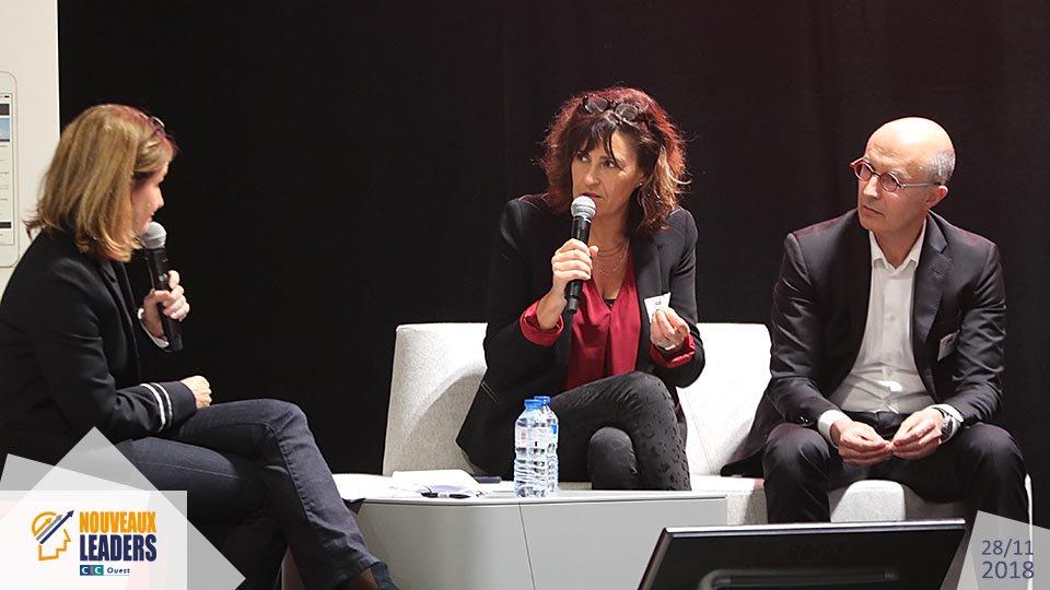 Ouest MEDIAS agence digitale Livetweet photo Sepro La Sablaise Nouveaux Leaders CIC Ouest