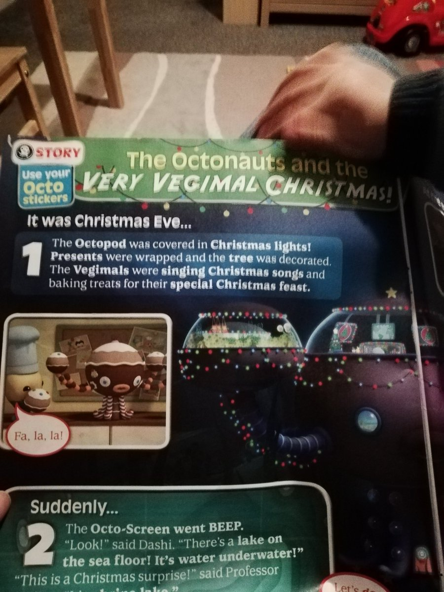 Octonaut Christmas.Rica Williams On Twitter I Was Pleased To Find In The