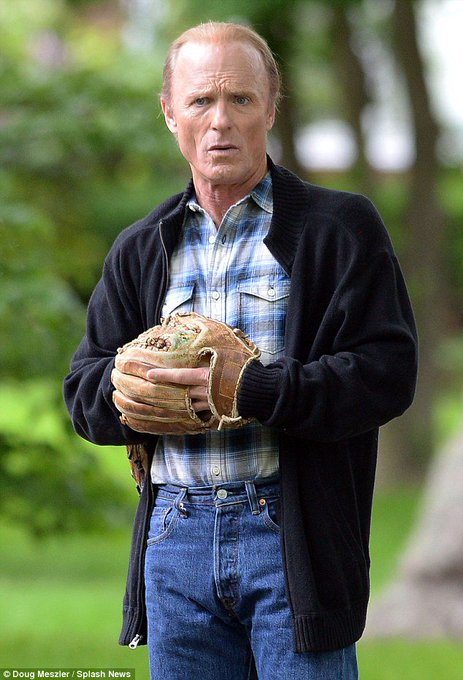 """Happy Birthday to Ed Harris, who is rumored to have been \""""The Voice\"""" in Field of Dreams."""