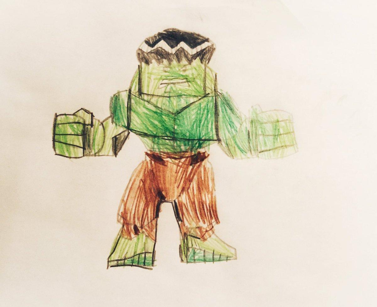 Cool Kids Art Hulk