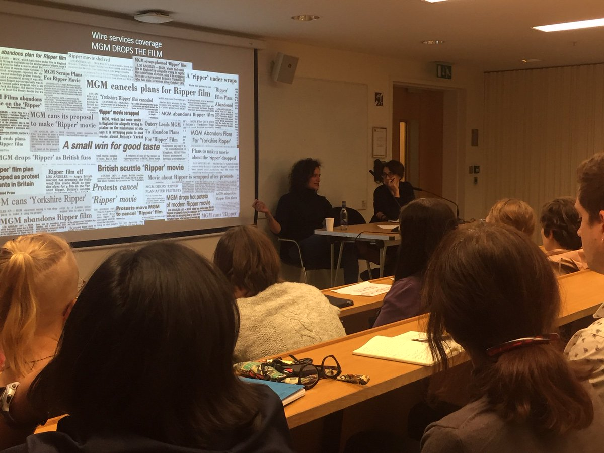 Lse Gender On Twitter Q A Happening Now Discussing Directaction Feministactivism Representations Of Sexual Violence The Importance Of This Kind Of Mediahistory Hannahhamad S Lsetalksgender Lecture The Yorkshire Ripper Misogyny In 1970s 80s
