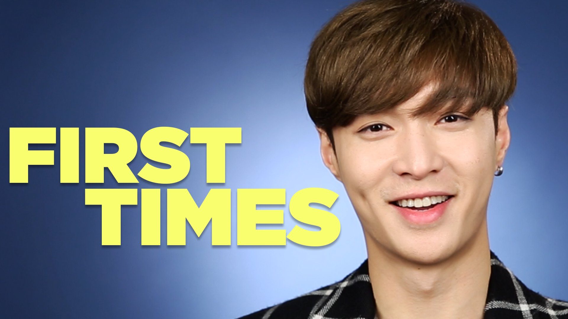 .@LAY_zhang_ of @weareoneEXO stopped by to tell us about his first times. https://t.co/cZQ9XwRhf6
