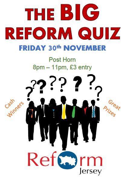 Reform Jersey On Twitter It S Reform Jersey S Pub Quiz Fundraiser
