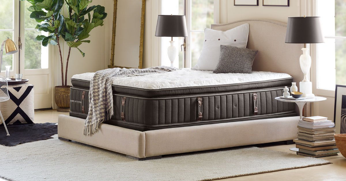 Get An Extra 10 Off Stearns Foster And Premium Banner Mattresses Plus 48 Months Interest Free Financing Same Day Delivery