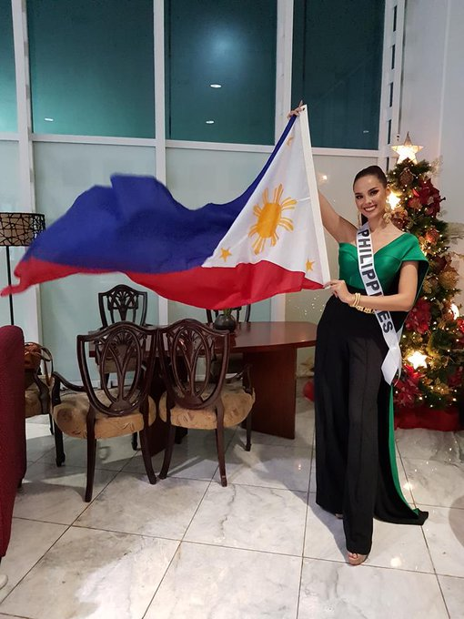 Miss Universe-Philippines @catrionaelisa is on her way to Bangkok, Thailand to win the coveted crown for the country. The #MissUniverse2018 coronation will be held on December 17 📷 Bb. Pilipinas ภาพถ่าย