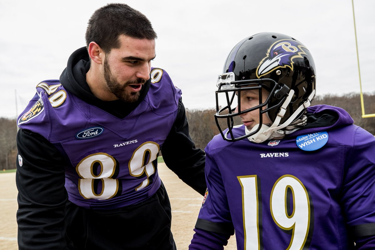 As he fights brain cancer, Frankie Collurafici's wish was to be a Raven.   Meet our newest quarterback.