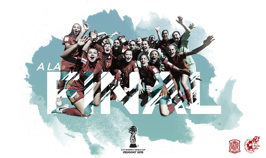 España, a la final del Mundial sub 17 (Foto: RFEF).