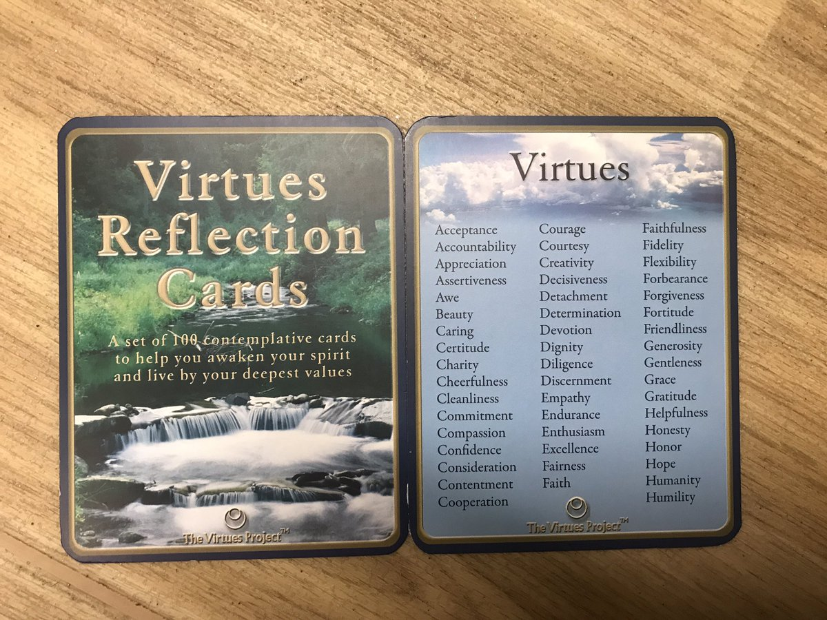 Great discussion about what values and virtues are important to us today in staff and community meetings #WeAreThornton 1/2pic.twitter.com/67n3KoFUo4