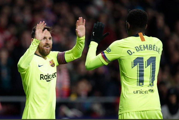 هدف برشلونة الأول في شباك ايندهوفن في دوري الابطال