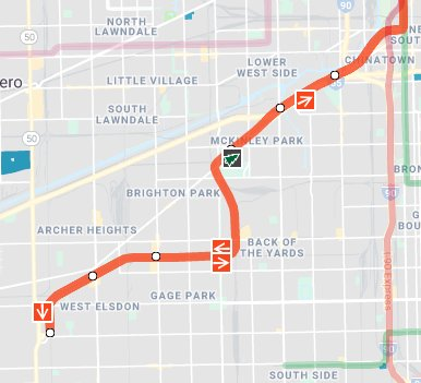 Transit Chicago Map.Cta On Twitter You Can Also Spot It On The Train Tracker Map