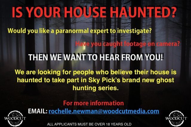 Lee Roberts On Twitter New Uk Paranormal Tv Show Coming To