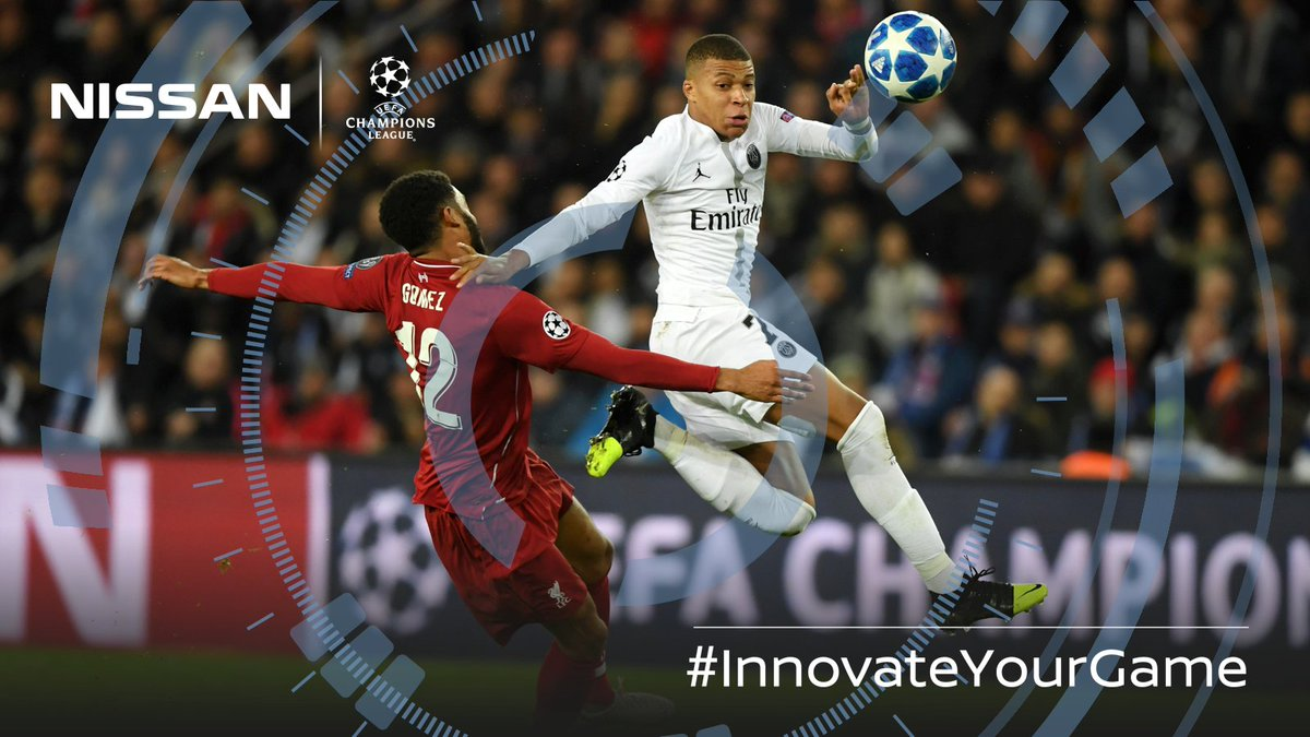 Parisian flair comes out on top.  #LIVPSG #Mbappé #UCL #InnovateYourGame 🧠⚽️