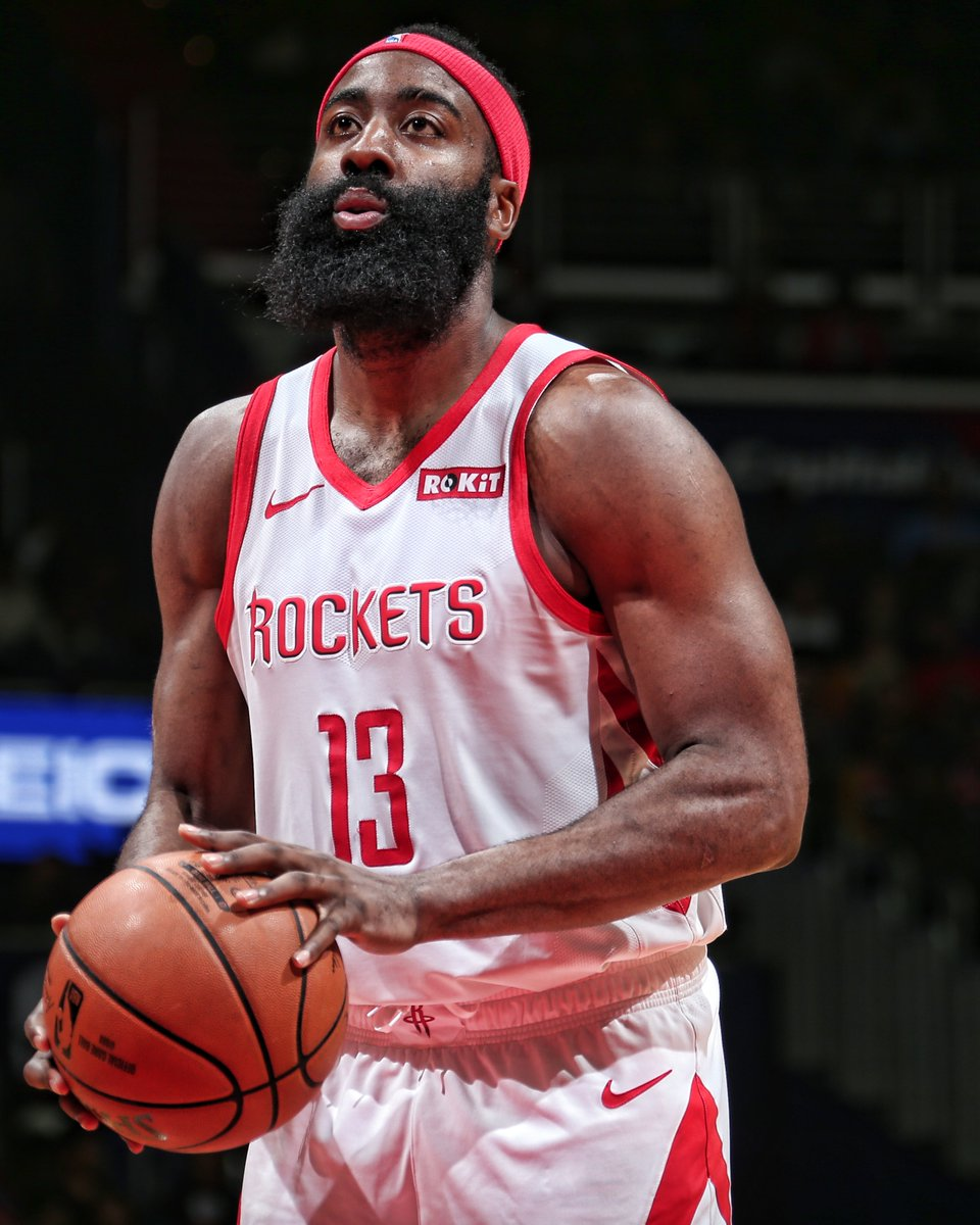 James Harden is averaging 38 PTS, 13 AST, 6 REB, 9 TO over his last 4 games.  All 4 were losses.