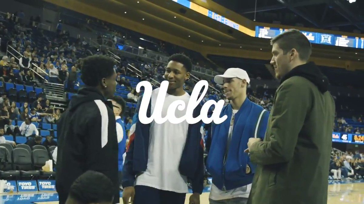 Great to see these former @UCLAMBB players in the house tonight!   Thanks for coming out @ZO2_, @The_4th_Holiday, @leafsquad22 & @IkePostrs_!  #GoBruins
