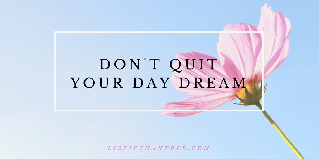 Don't quit your day dream. #Motivation #AmWriting #Books #Reads https://t.co/9CZe4hF3nb
