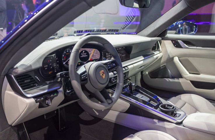 Carscom On Twitter The Interior Of The 2020 At Porsche 911