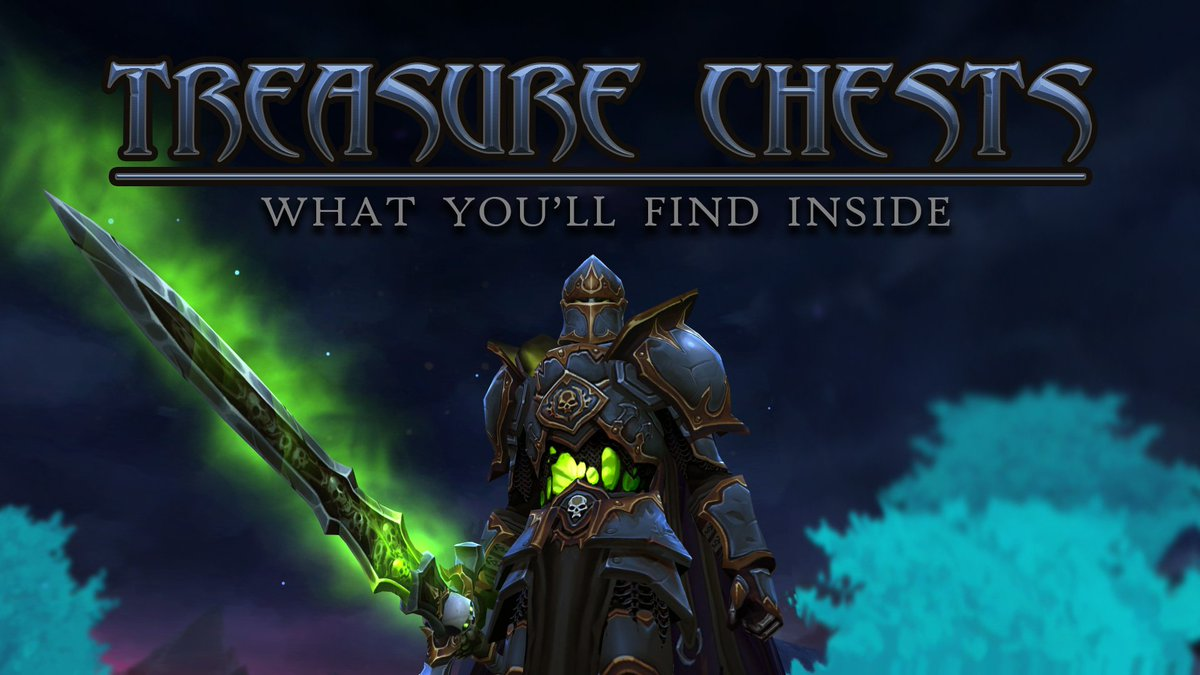 DESIGN NOTES] Treasure Chest Item Sneak Peek! There are well