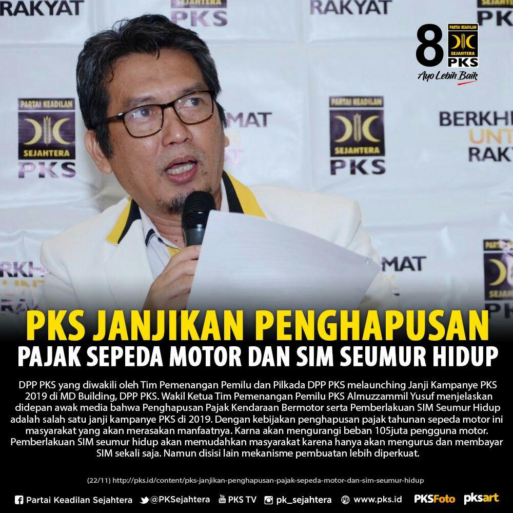 Alhamdulillah ... semoga program pro rakyat ini bisa terealisasi ...dengan #PKSMenang  yuk ..kita do'akan bersama...