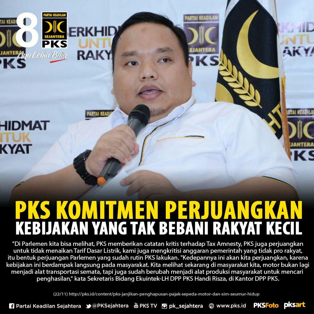 #pks komitmen perjuangkan kebijakan kebijakan yang tak bebani rakyat kecil #2019PilihPKS  #PKSMenang