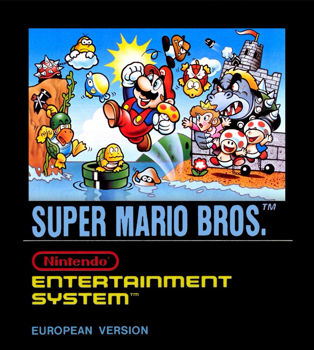 Cool Box Art On Twitter Super Mario Bros Nes Nintendo 1987