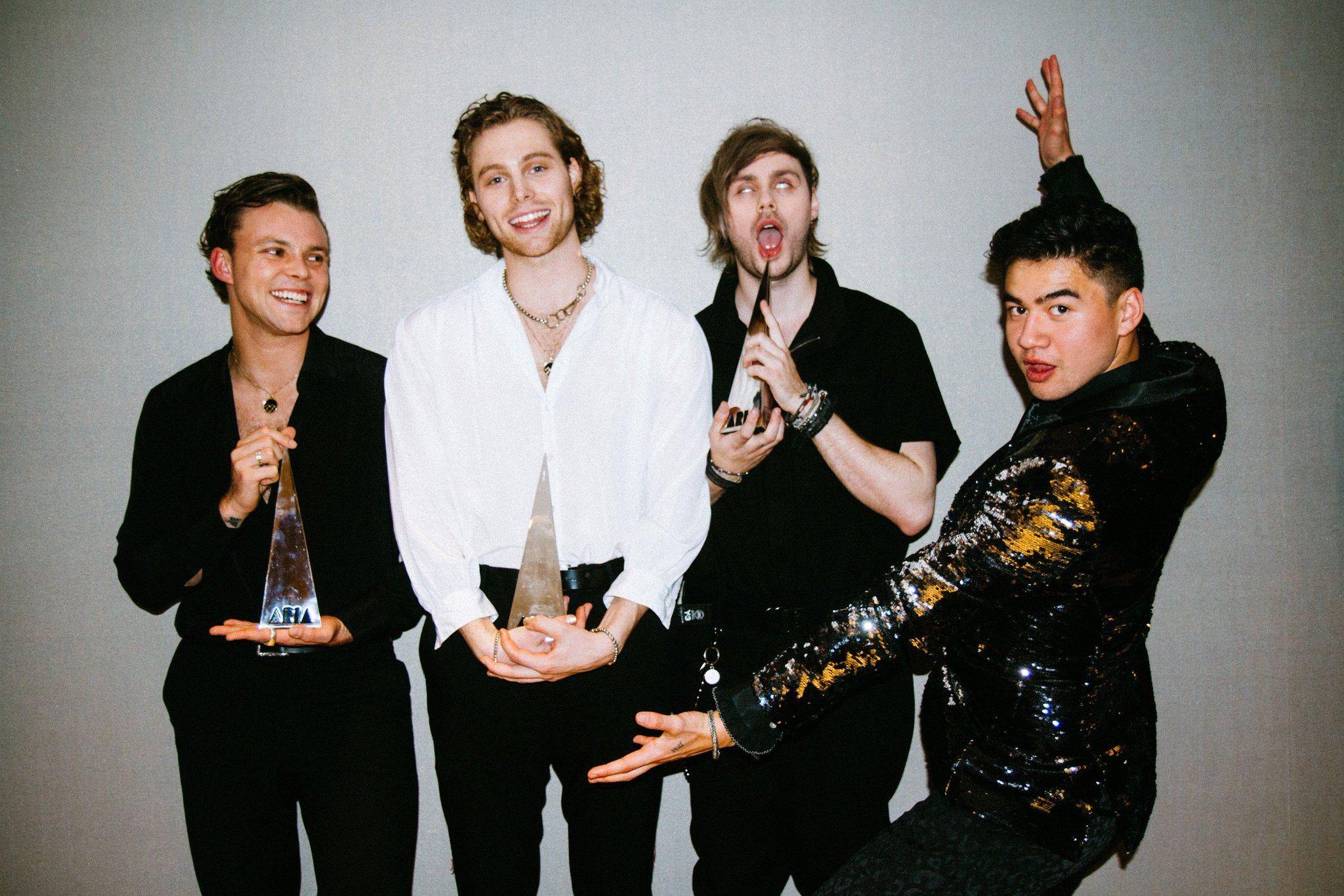 5 Seconds Of Summer On Twitter Quot 5sos X Aria S Thank