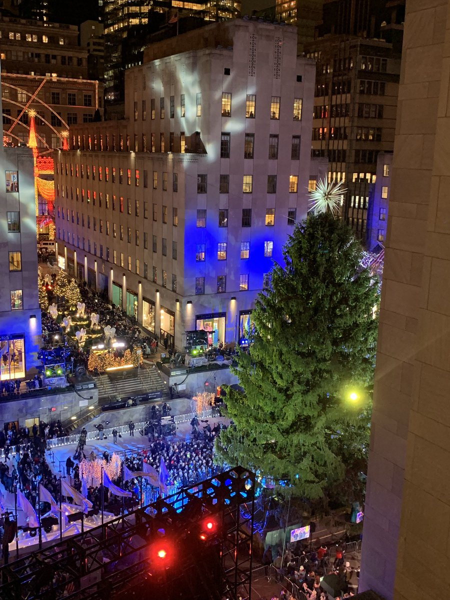 The Rockefeller Christmas Tree lighting marks the start of the holiday season
