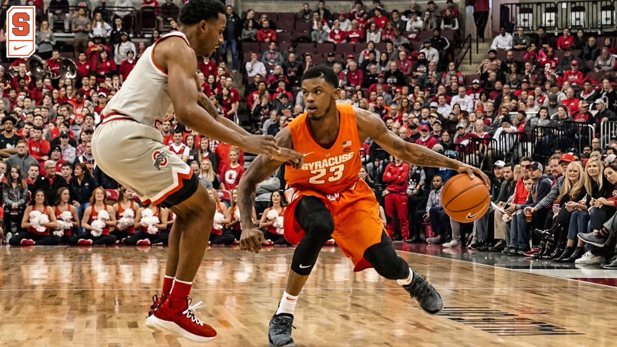 Syracuse comes up big in second half at #16 Ohio State (full coverage)