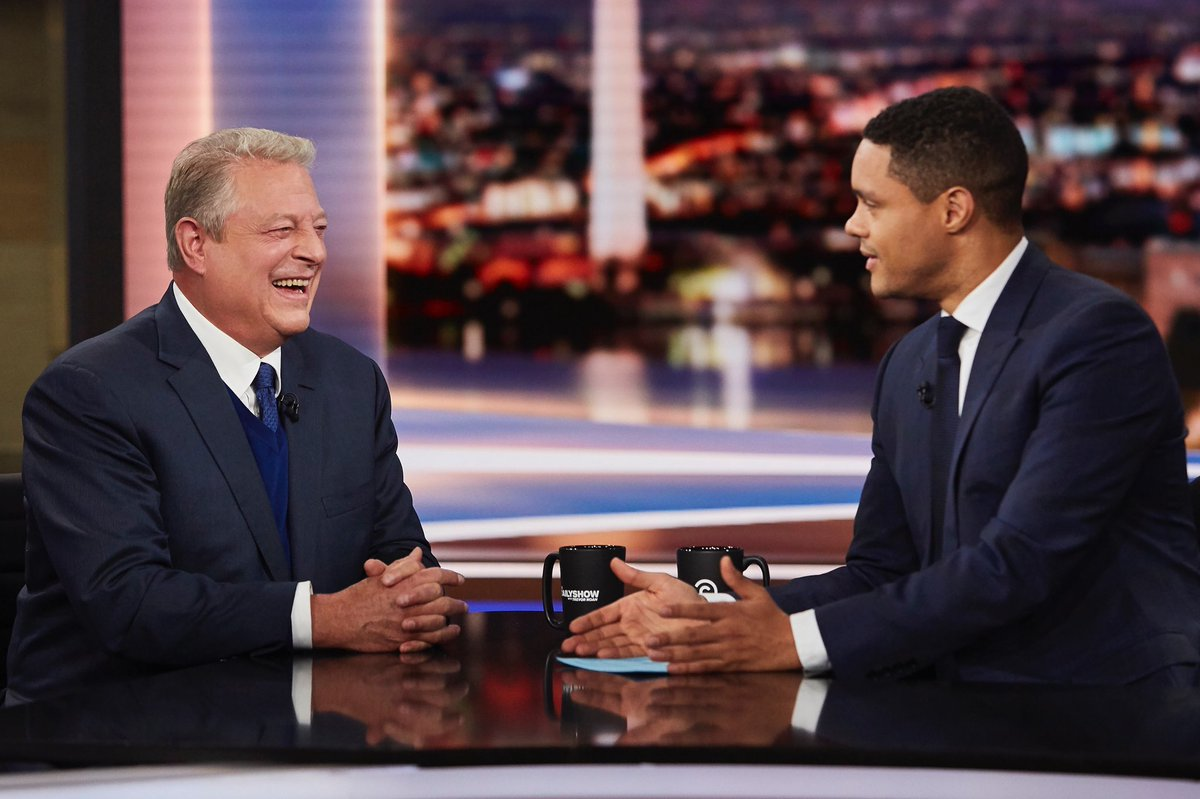 Tune in to the @TheDailyShow tonight at 11pET for my interview with @Trevornoah!