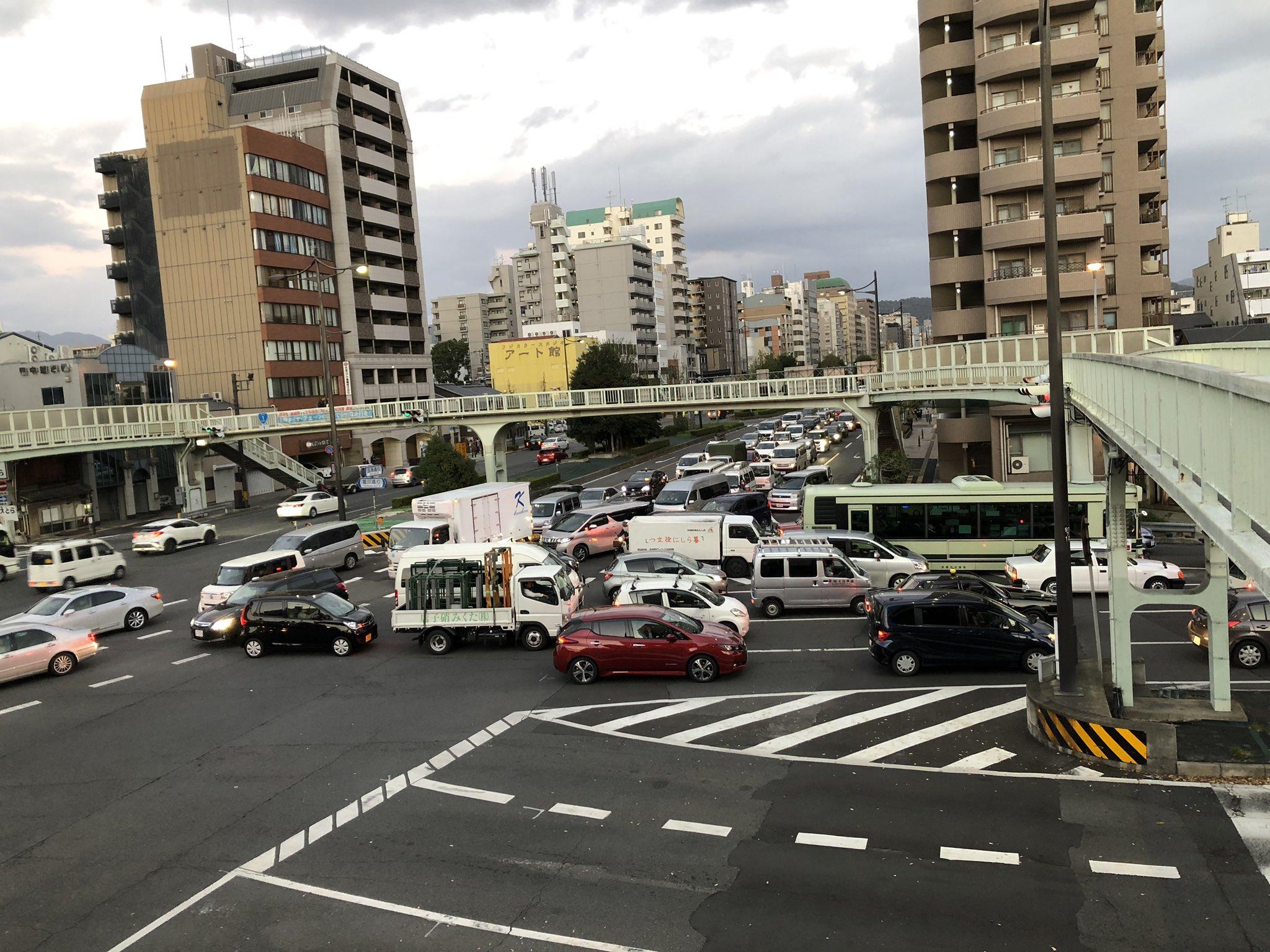 画像 : #交通情報 #京都 #堀川通...