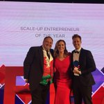 Incredible success at the Great British Entrepreneur Awards as 2018 Scale-Up Entrepreneur of the Year is awarded to Adam Ludwin and Dominic Joseph, @Captify and second place to Ed Bussey, @Quill_Content. Congrats to both our portfolio companies. #GBEALondon