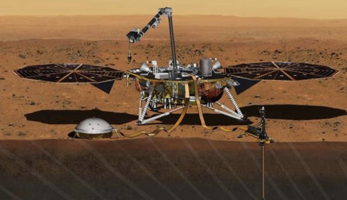 "Scientists & engineers launched ""InSight"" from Earth (a moving platform) across 300million miles to arrive where Mars (a moving target) will be seven months later, landing safely to do geophysics at the Martian equator. And you have a problem listening to us about climate change?"