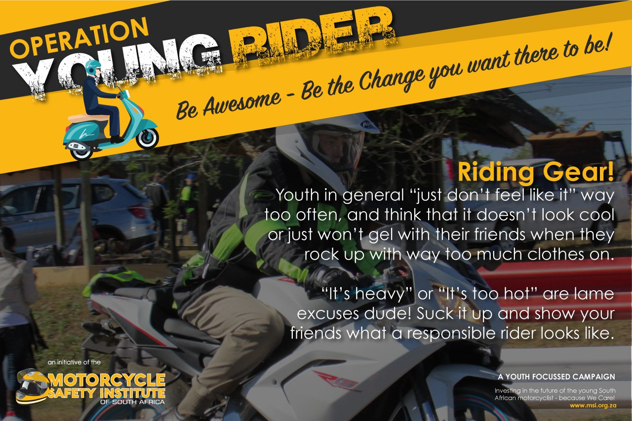 Motorcycle Safety Institute on Twitter: