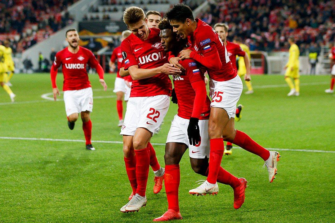 «Спартак» заработал в Лиге Европы 3,57 млн евро