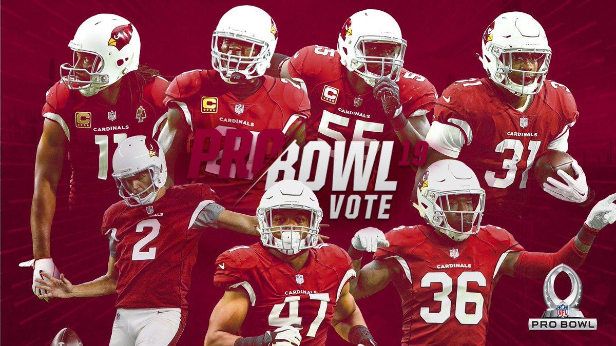 Social voting for the Pro Bowl is now open!  RT to #ProBowlVote for @LarryFitzgerald, @P2, @chanjones55, @DavidJohnson31, @AndyLee4, @zeke_turner + @buddabaker32