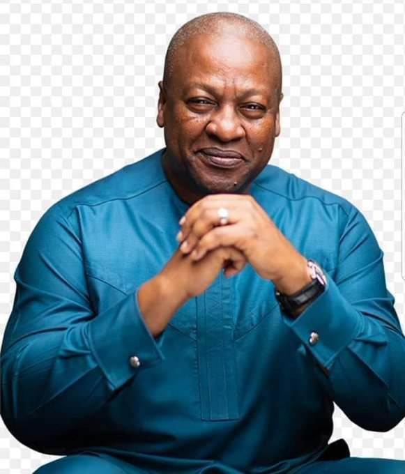 Happy birthday to you, his Excellency the former president John Dramani Mahama