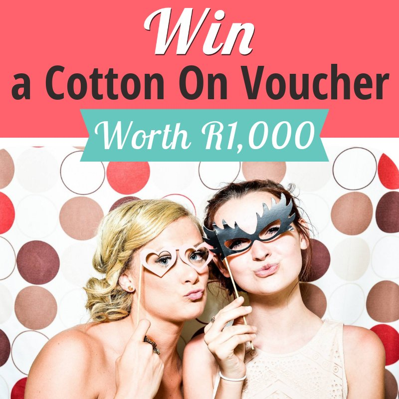 Need an outfit for your year end razzle?  🎉  Play to win a R1,000 Cotton On Voucher, drawing today! Play Now: https://t.co/BdRYutF5Q5 https://t.co/Pi10aFM0NY