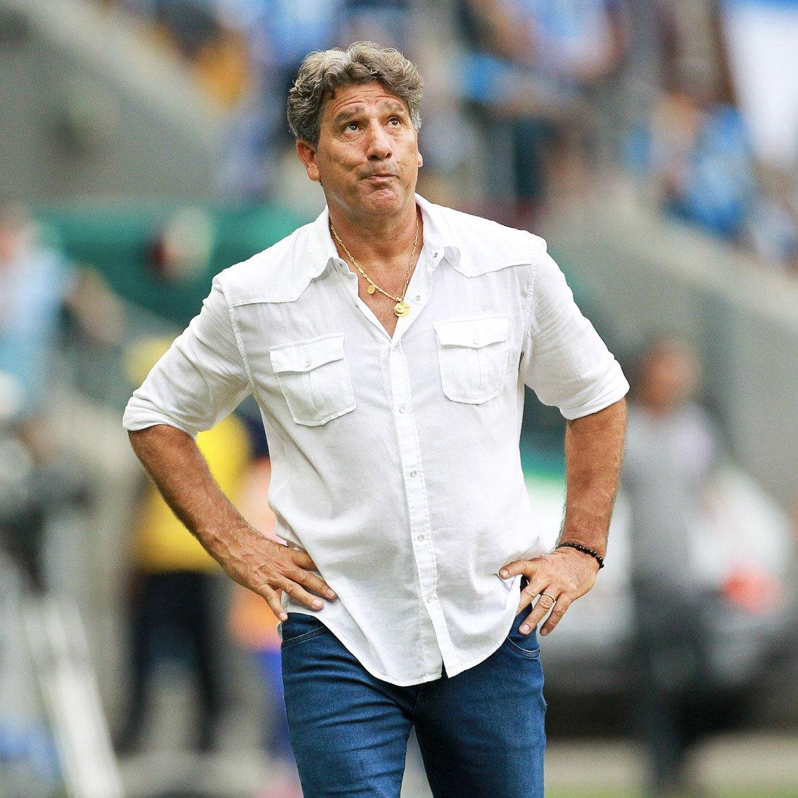 Qual clube Renato deve treinar em 2019?  Flamengo = RT Grêmio = Curtir  #RedacaoSporTV  📸 BP Filmes