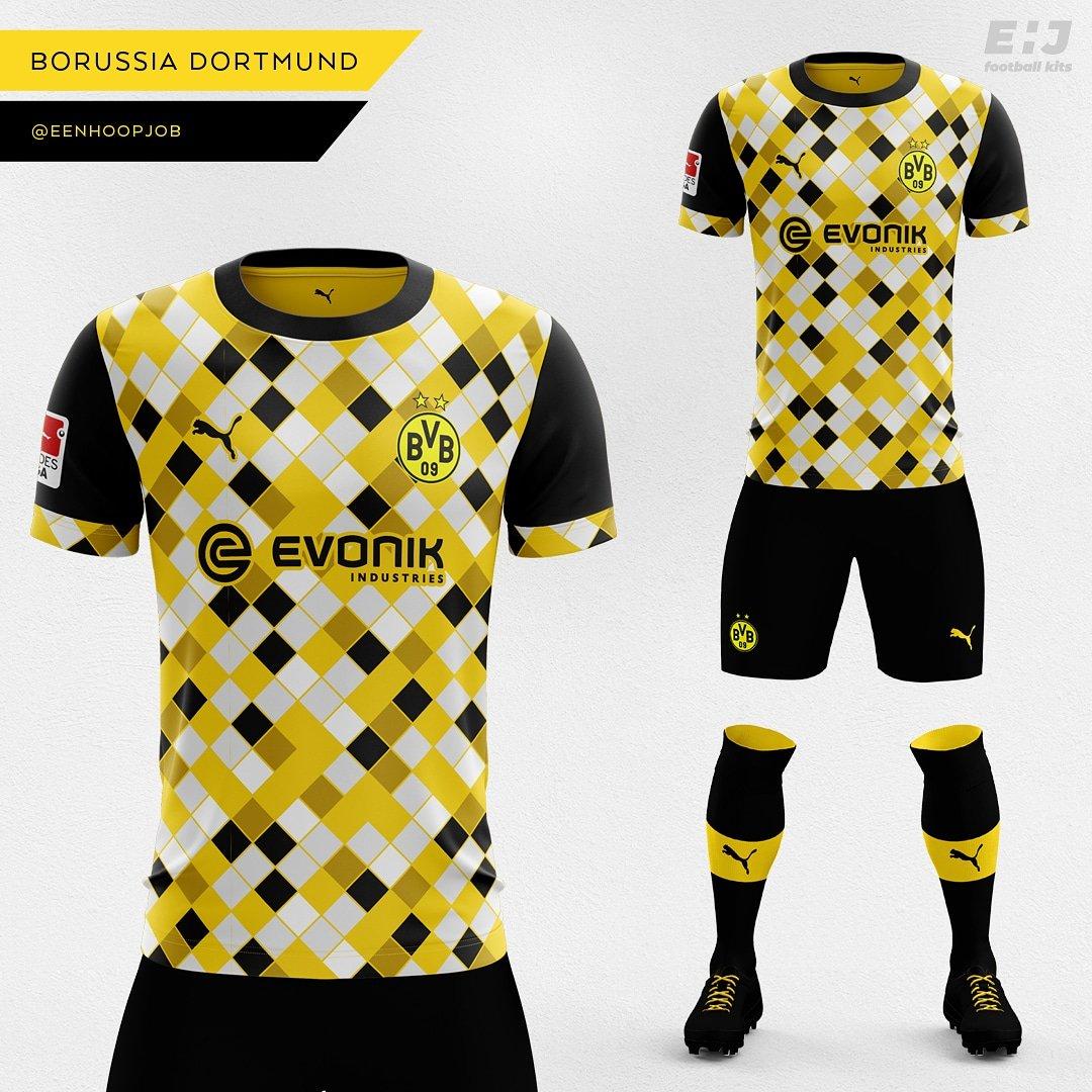 save off e504b 22a74 Job - Eenhoopjob Football Kit Designs on Twitter: