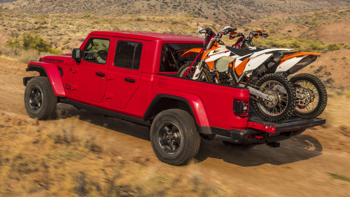 top gear on twitter the jeep gladiator is a brilliantly outdoorsy