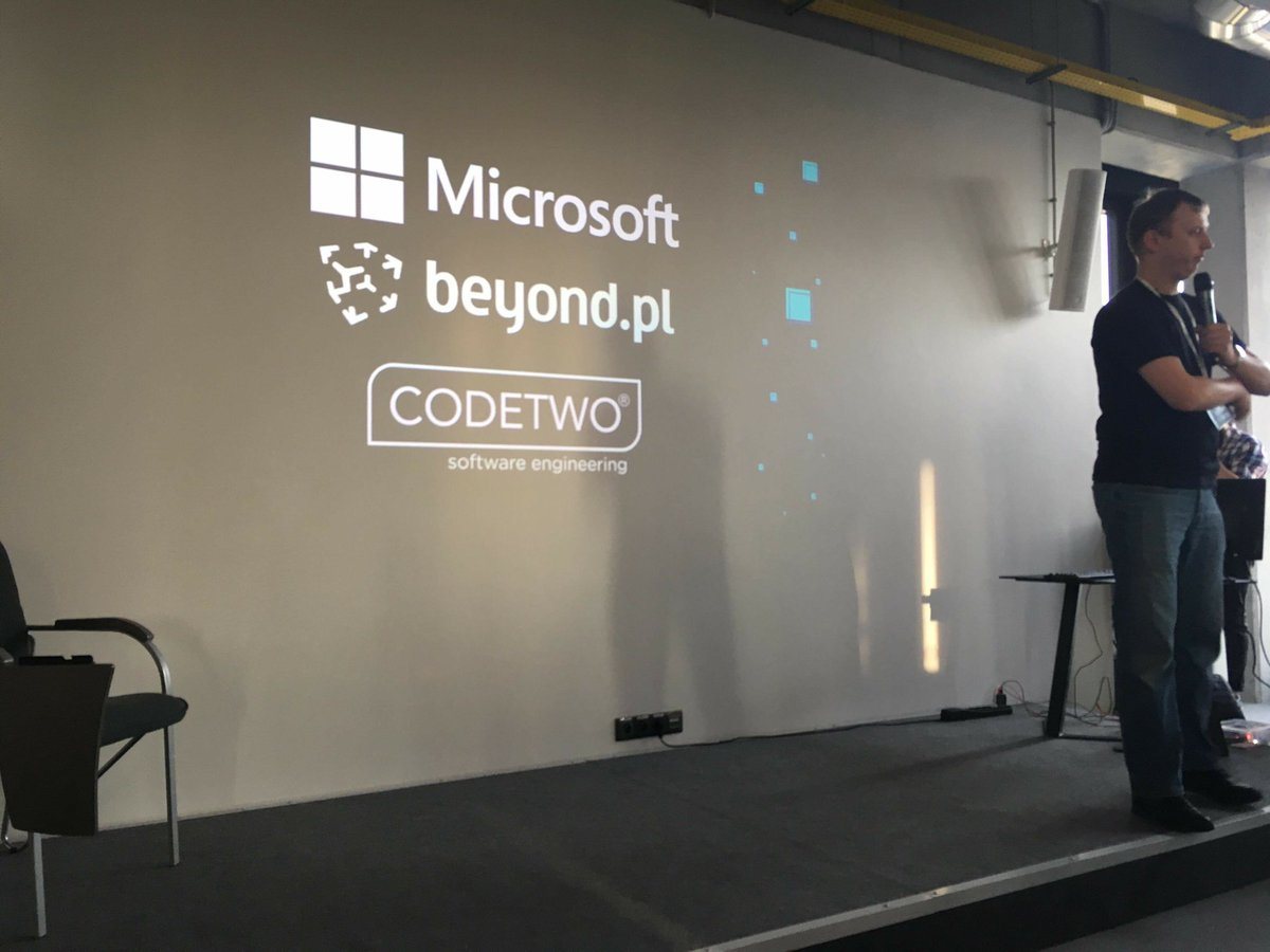 #AzureTruck Day in #Poznań. Thanks to our @AzureTruck Partners @Microsoft # Poland, @beyondpl and @CodeTwoSoftware https://t.co/T5vdwm45Wv