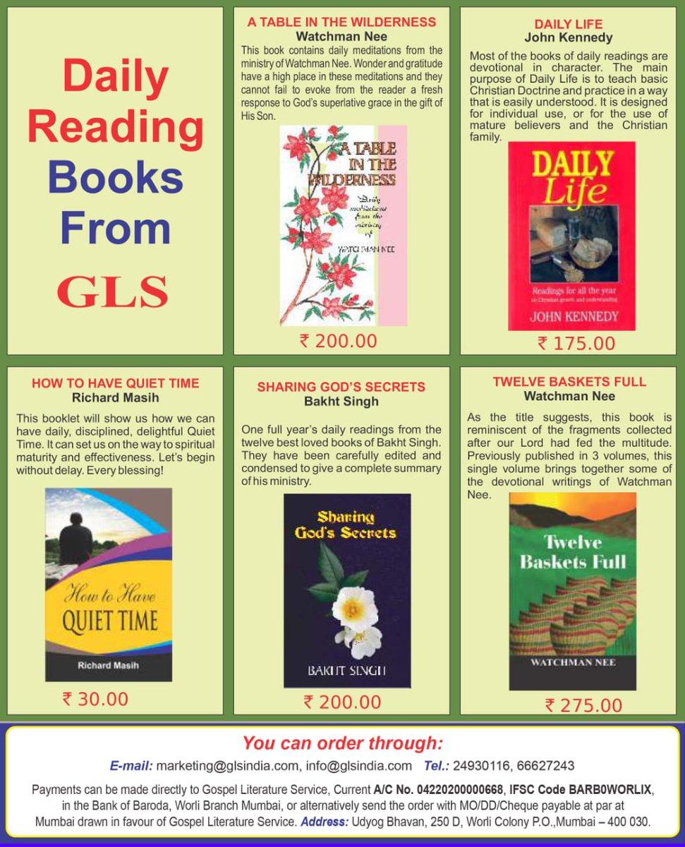 test Twitter Media - Books for meditation and daily devotion. https://t.co/fFFSskmcy1