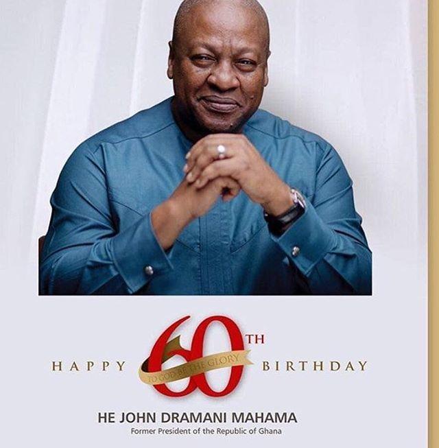 Happy birthday to the former president of Ghana , John Dramani Mahama