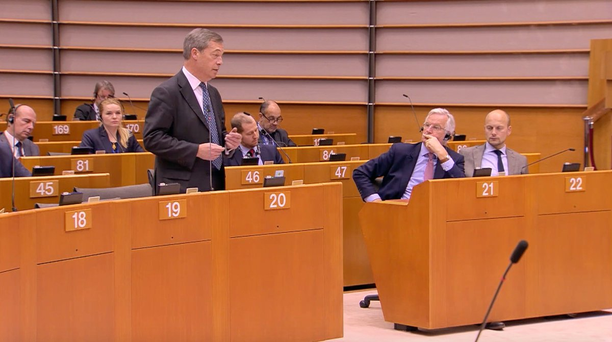 Catch up on my latest speech to the European Parliament. ⬇️